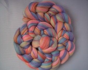 Merino Spinning Fiber-  Fine 21 micron Merino wool 100g / 3.5oz- ' CANDY '