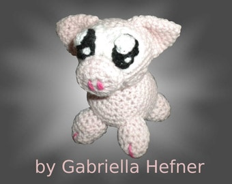 "Amigurumi pattern ""Piggy the Pig"""
