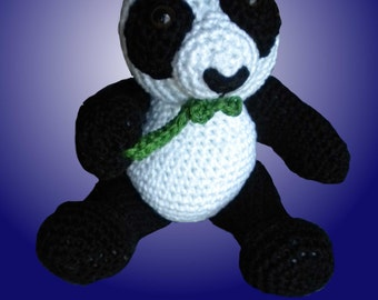Amigurumi pattern Little Panda