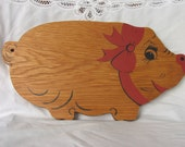 Happy Pig Cutting Board  (Free Shipping)