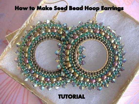 How to make hoop earrings classy