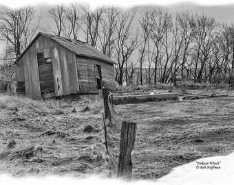 Dakota Winds- 8x12 Rustic Barnwood Framed