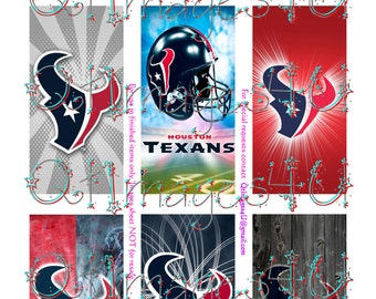 Inspired Houston Texans Domino Images