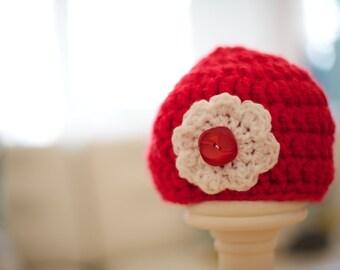 Girly Flower Hat