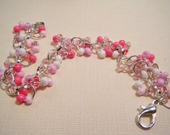 Pink Carnation Bracelet