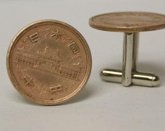World Coin No. 3 Cufflinks Free gift bag