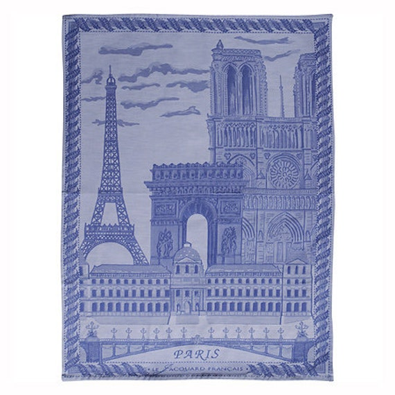 le jacquard francais kitchen dish towel paris. Black Bedroom Furniture Sets. Home Design Ideas