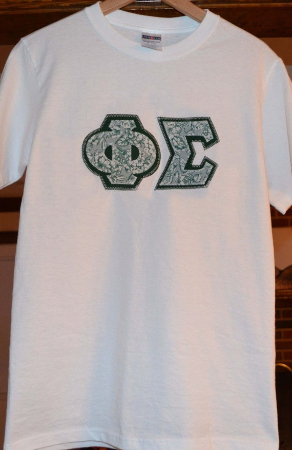 Sorority or fraternity letters t shirts by greekboutique for Custom greek letter t shirts