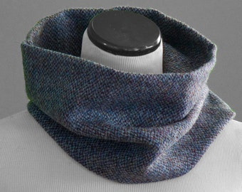 Blue Barleycorn Harris Tweed Snood