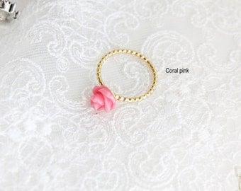 Valentine 14K Gold Flora Ring