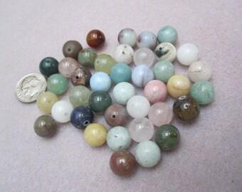 Multi Gemstone Beads 10mm