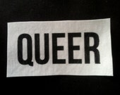 Queer Sew On Patch LGBTQ
