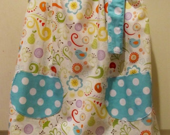 Whimsical Pillowcase Dress with pockets