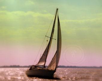 Water, nautical Sailboat
