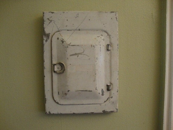 items similar to old worn metal fuse box cover door salvage items similar to old worn metal fuse box cover door salvage metal steampunk industrial metal fun electric box detash project craft