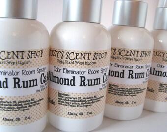 Odor Eliminating Room Spray - Almond Rum Cake - Body Spray - Bath and Body - Scented - Home Fragrance