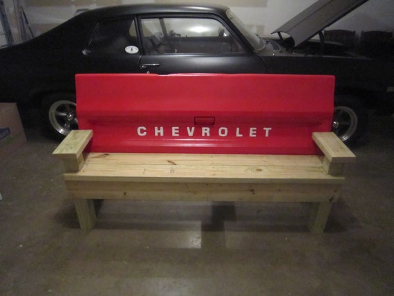Unique truck tailgate bench