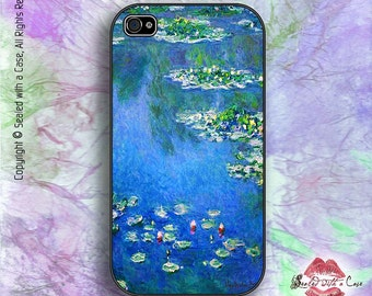 Monet Water Lilies - iPhone 4/4S 5/5S/5C/6/6+ and now iPhone 7 cases!! And Samsung Galaxy S3/S4/S5/S6/S7