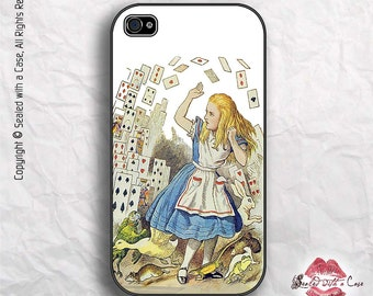 Alice in Wonderland - iPhone 4/4S 5/5S/5C/6/6+ and now iPhone 7 cases!! And Samsung Galaxy S3/S4/S5/S6/S7