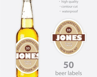 50 - Customized Beer Label