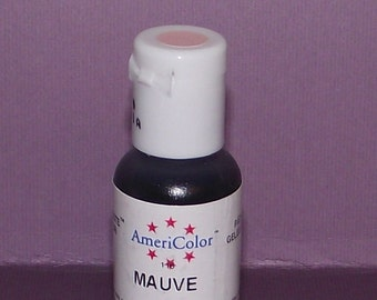 Americolor Gel Paste - Food Color in Mauve