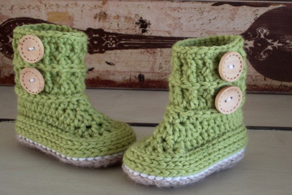 Unisex Baby Booties Free Crochet Pattern : Unavailable Listing on Etsy