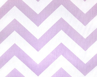 Lavender Chevron Fabric by the YARD purple Home Decor upholstery curtains pillows drapes runners zigzag wisteria Premier Prints  SHIPsFAST