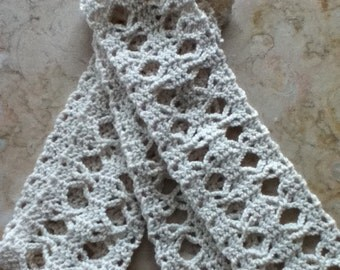 Crocheted Papillon Scarf