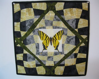"Art Quilt - ""Dignified"""