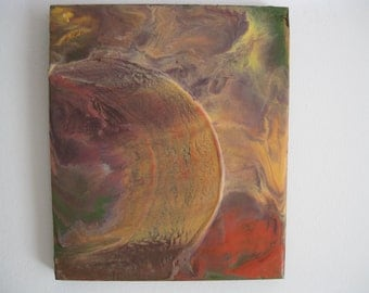 Original Encaustic Painting- Other Worldly