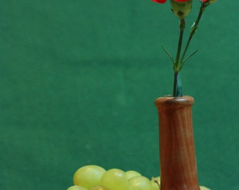 Cedar Wood Flower Vase