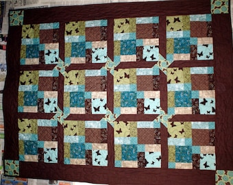 Sonoran Charm Brown and Teal