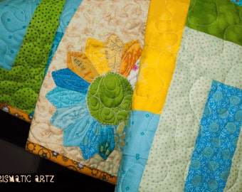 Lemon Pie Baby and Toddler Quilt