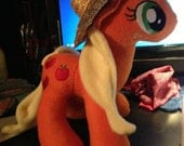 apple bloom My little pony Plush and apple jack