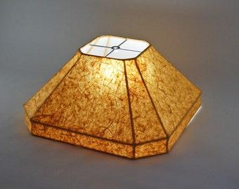 """Custom """"Tahiti"""" Handmade Paper Lampshade"""