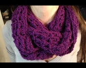 The Josie Infinity Scarf - 4 in. wide, perfect for any outfit or with any coat, soft, comfortable, stretchy, keeps necks warm