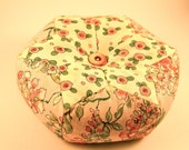 Giant Pincushion, Paper Pieced, Cottage Chic Style