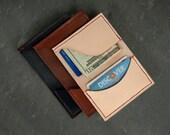 Men's Front Pocket Leather Wallet