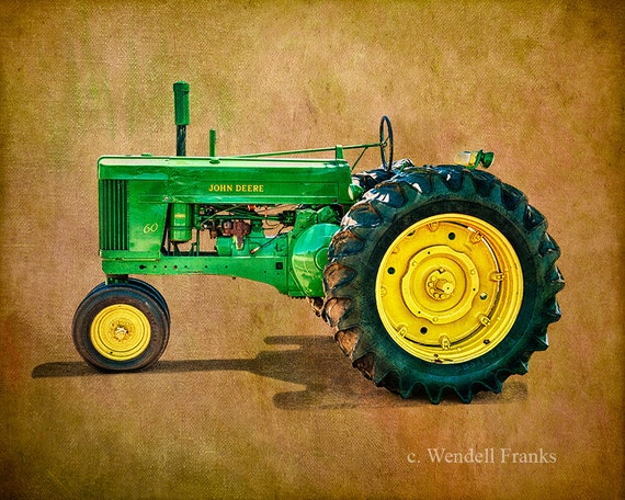Antique John Deere R Tractor : Antique john deere tractor from the s e