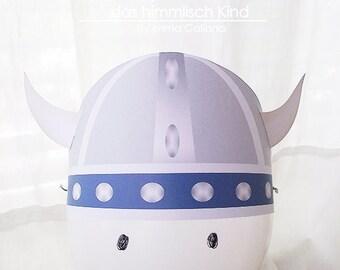 Paper Viking Helmet
