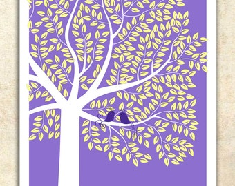 Unique Wedding Guest Book, Interactive Art Print, 400 Plus guests signature GUEST TREE, 411 guest sign in 20x30, Personalized Print Art 130