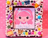 Sweet and Yummy Decoden Picture Frame