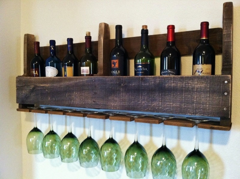 reclaimed wood wine rack plans