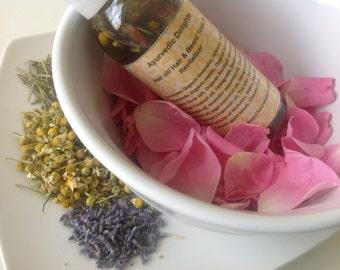 Organic Amla  Herbal Hair Oil  - 12 Ayurvedic Herbs - Hair growth Tonic - Theraputic hair & Body Massage oil - Ayurveda-Hair Serum