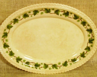 Vintage Harker Royal Gadroon Ivy Platter