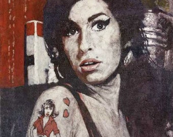Amy : Limited Edition print 28/250