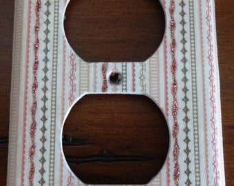 Decorative Outlet Cover - Pattern: Madison Ave 'Sisters'