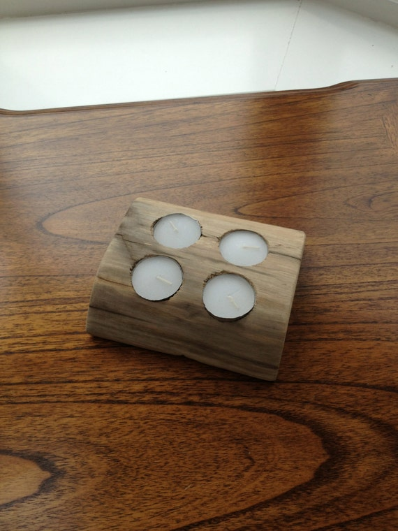 Unique Driftwood Tea Light Holder By Bywithlovewhitstable