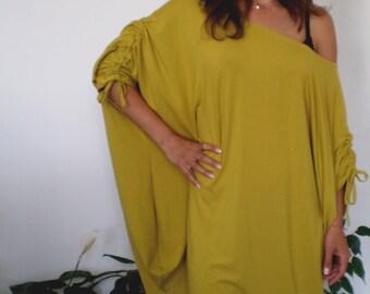 Over-sized Jersey Tunic Dress Plus Sizes & Nara TT019