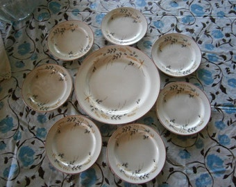 SALE  8-Pc. Homer Laughlin  Nautilus China Was  48.00  Now  40.00